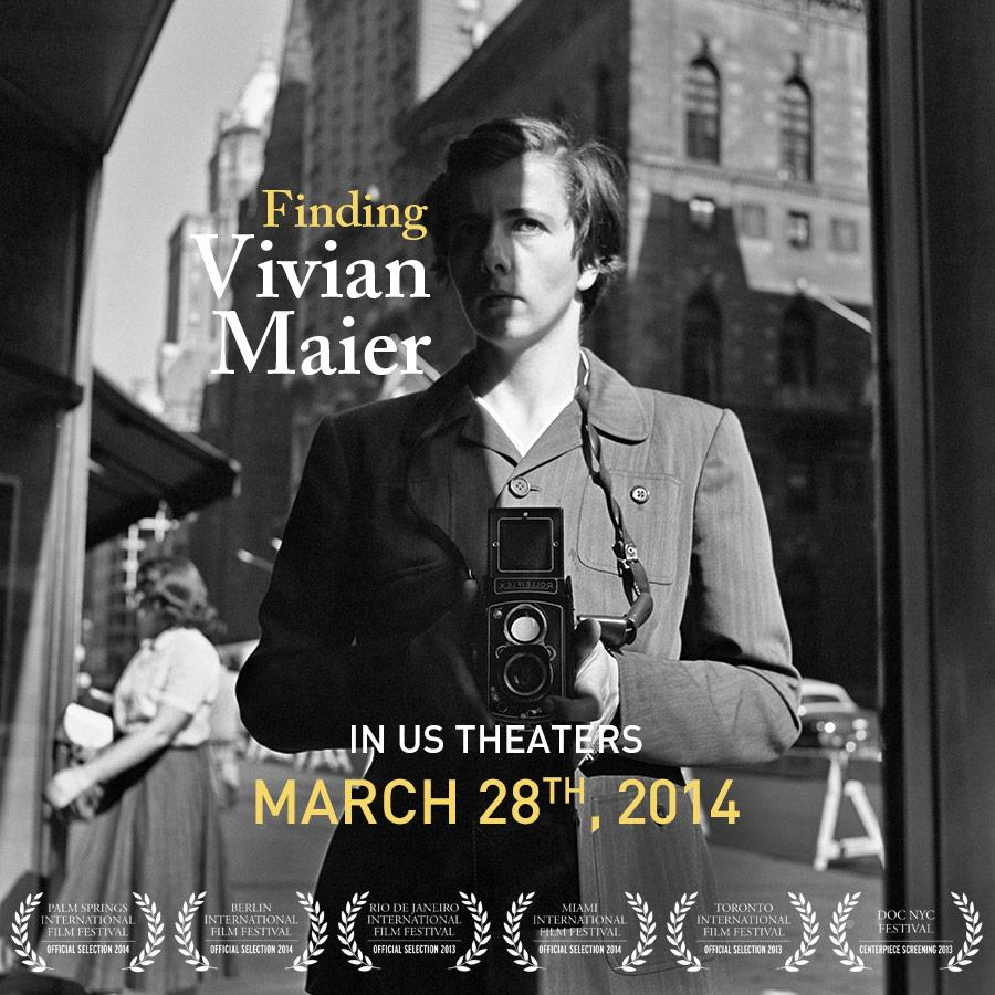 Finding Vivian Maier in US theaters March 28th, 2014