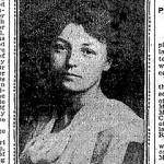 Jeanne Bertrand in a Boston Globe article from 1902